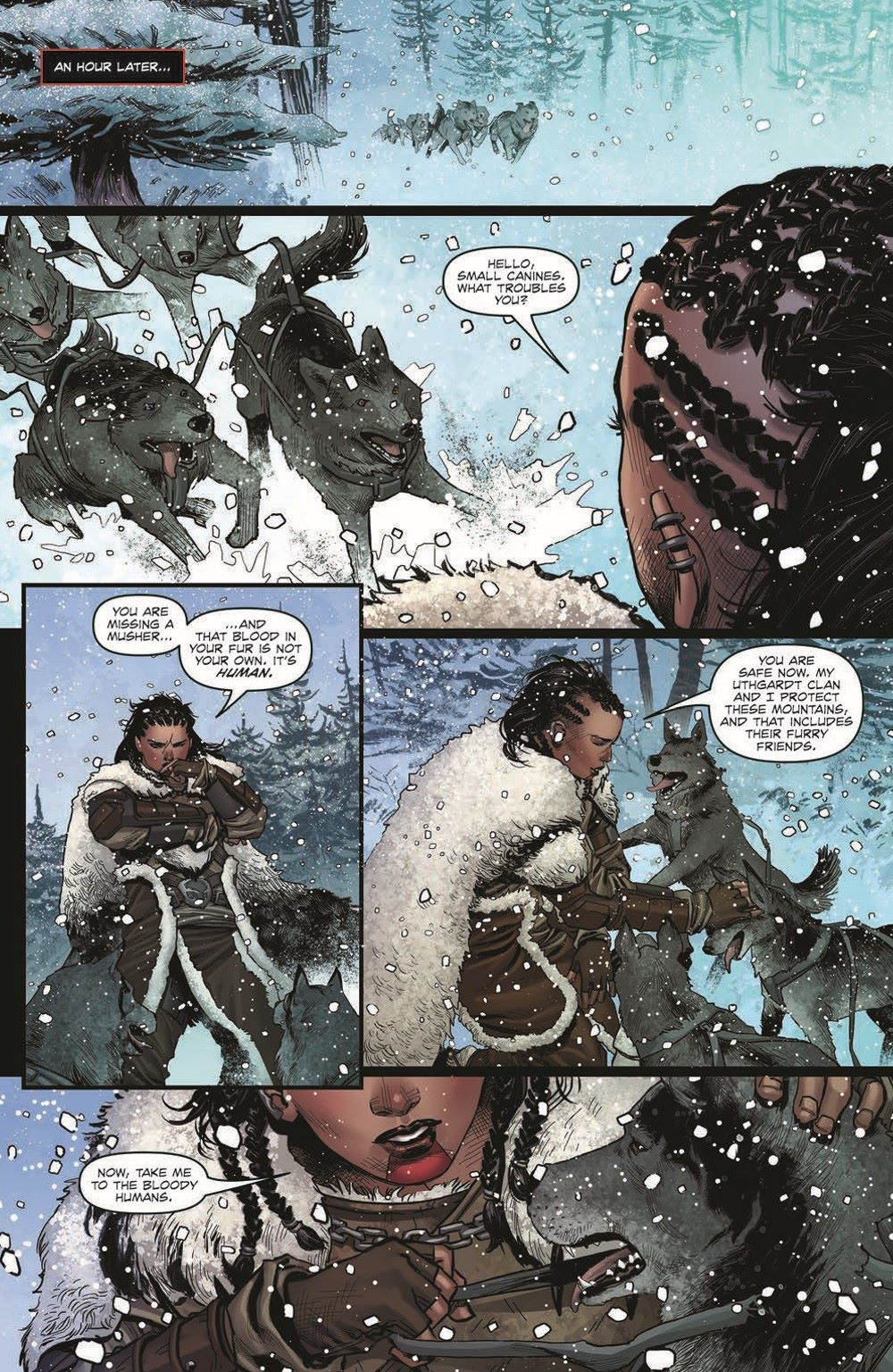 DD_ATSOTW01-pr-6 ComicList Previews: DUNGEONS AND DRAGONS AT THE SPINE OF THE WORLD #1 (OF 4)