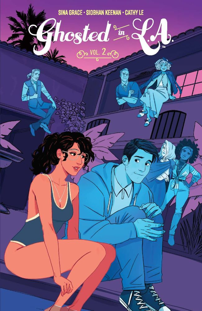 GhostedLA_v2_SC_Cover ComicList Previews: GHOSTED IN L.A. VOLUME 2 TP