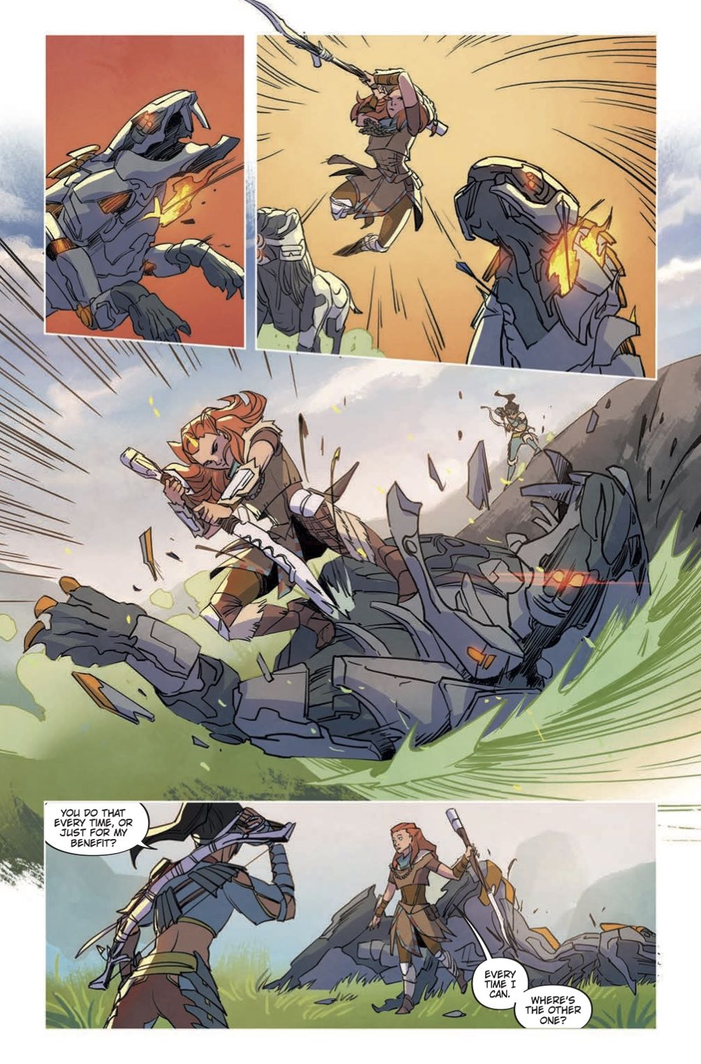HZD_Comics-List-2 Special preview of Titan Comics' HORIZON ZERO DAWN VOLUME 1