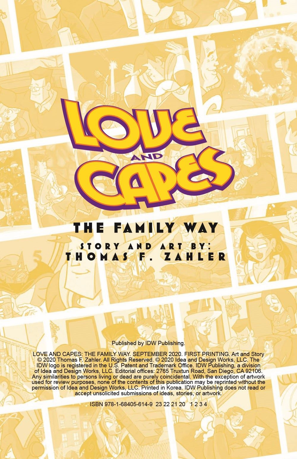 LoveandCapes_V5_pr-2 ComicList Previews: LOVE AND CAPES VOLUME 5 THE FAMILY WAY TP