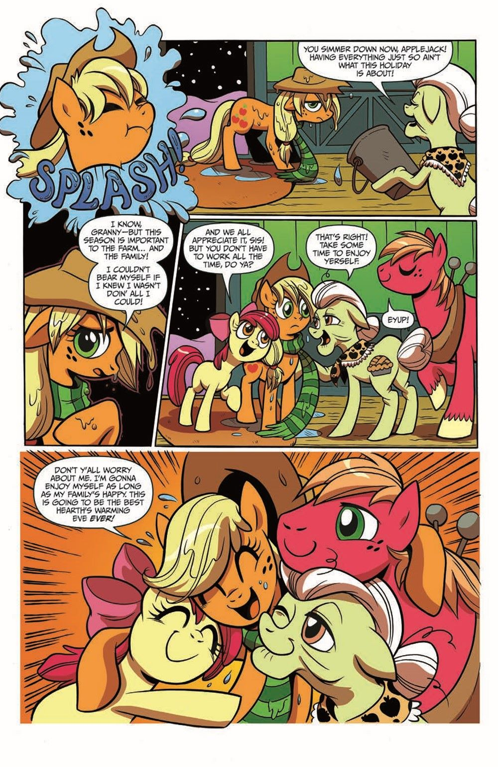 MLP_HolidayMemories_pr-5 ComicList Previews: MY LITTLE PONY HOLIDAY MEMORIES TP