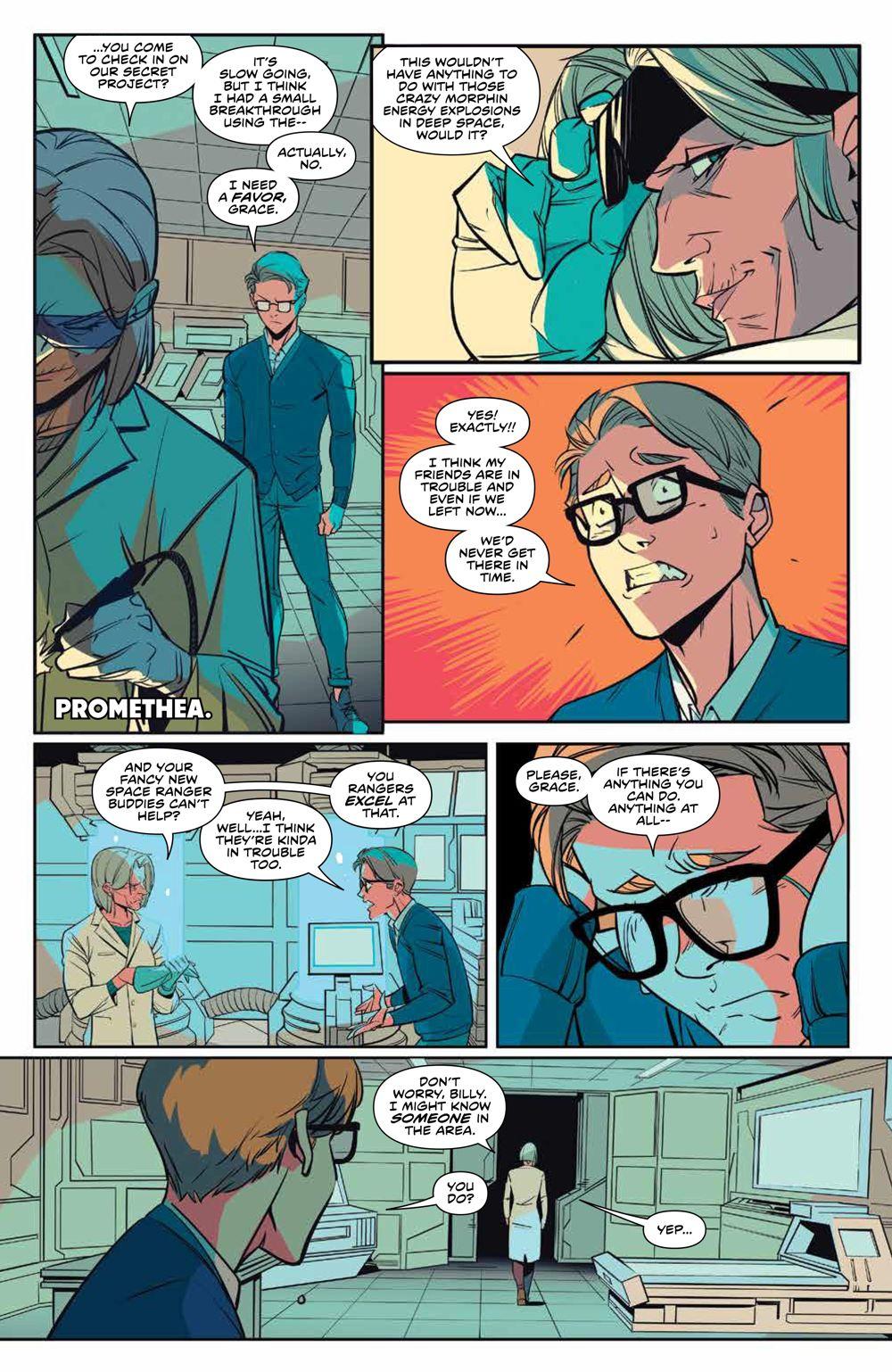 MMPR_v13_SC_PRESS_12 ComicList Previews: MIGHTY MORPHIN POWER RANGERS VOLUME 13 TP