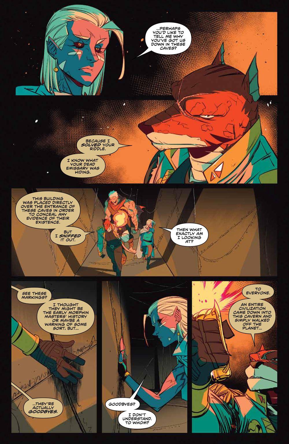 MMPR_v13_SC_PRESS_9 ComicList Previews: MIGHTY MORPHIN POWER RANGERS VOLUME 13 TP