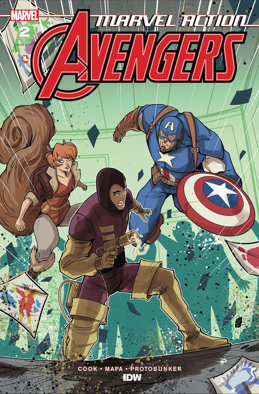 Marvel_Avengers02_coverRI ComicList Previews: MARVEL ACTION AVENGERS VOLUME 2 #2