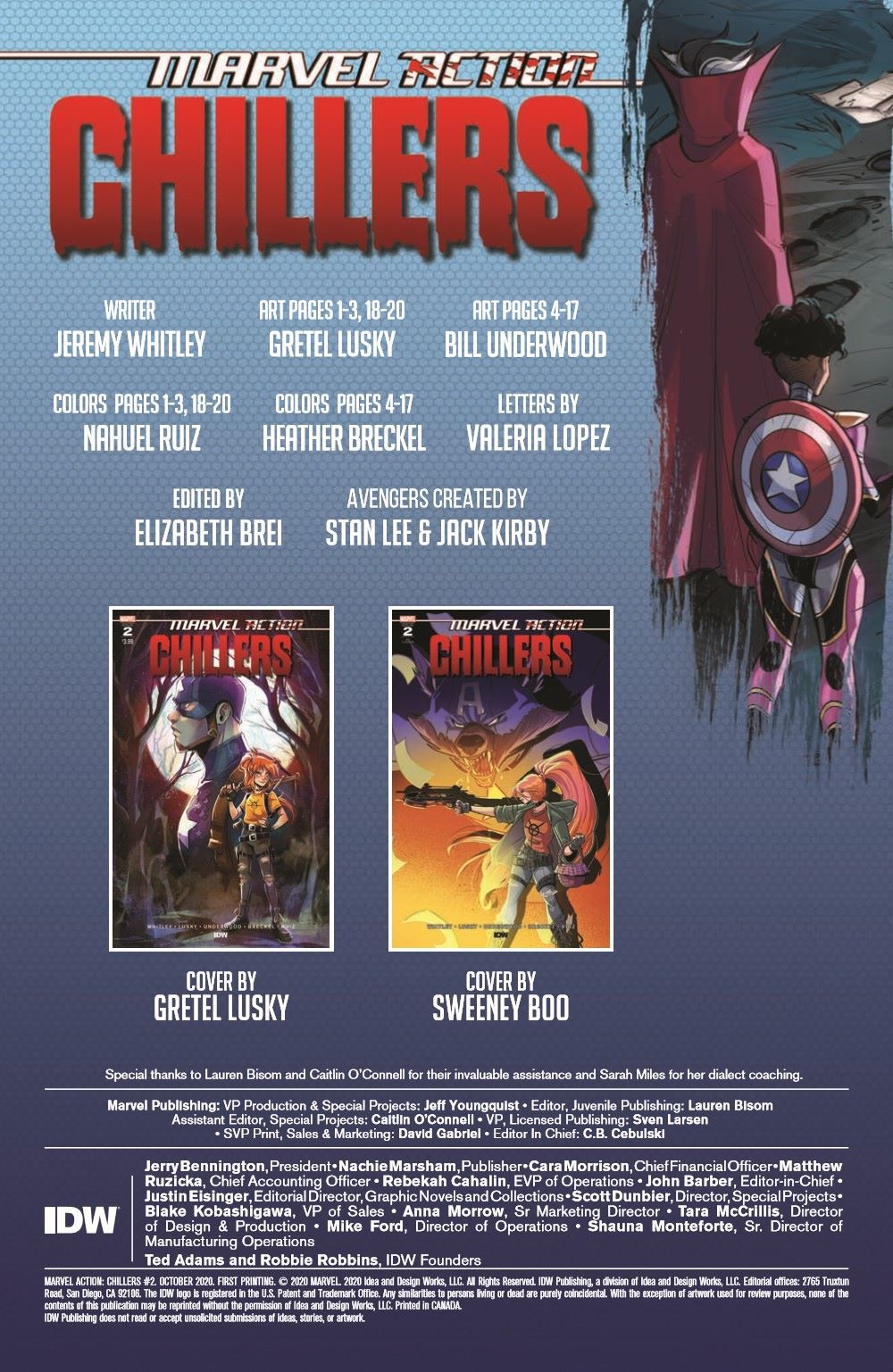 Marvel_Chillers_02-pr-2 ComicList Previews: MARVEL ACTION CHILLERS #2