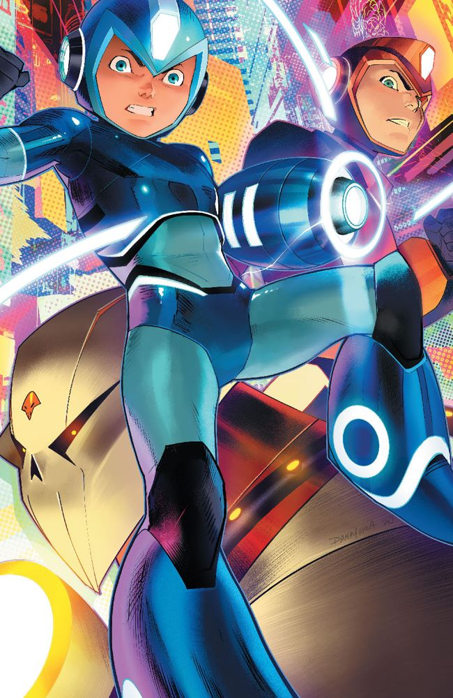 MegaMan_FullyCharged_004_Cover_C_Variant ComicList Previews: MEGA MAN FULLY CHARGED #4