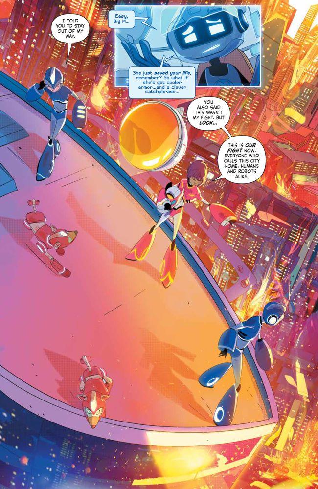 MegaMan_FullyCharged_004_PRESS_6 ComicList Previews: MEGA MAN FULLY CHARGED #4