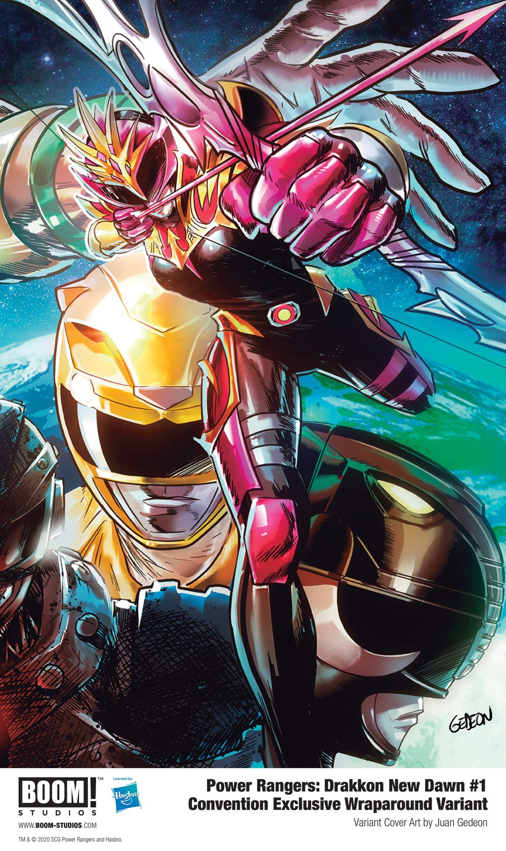 PowerRangers_Drakkon_NewDawn_001_Cover_Convention_PROMO BOOM! Studios 2020 Convention Variants to be sold at comic shops