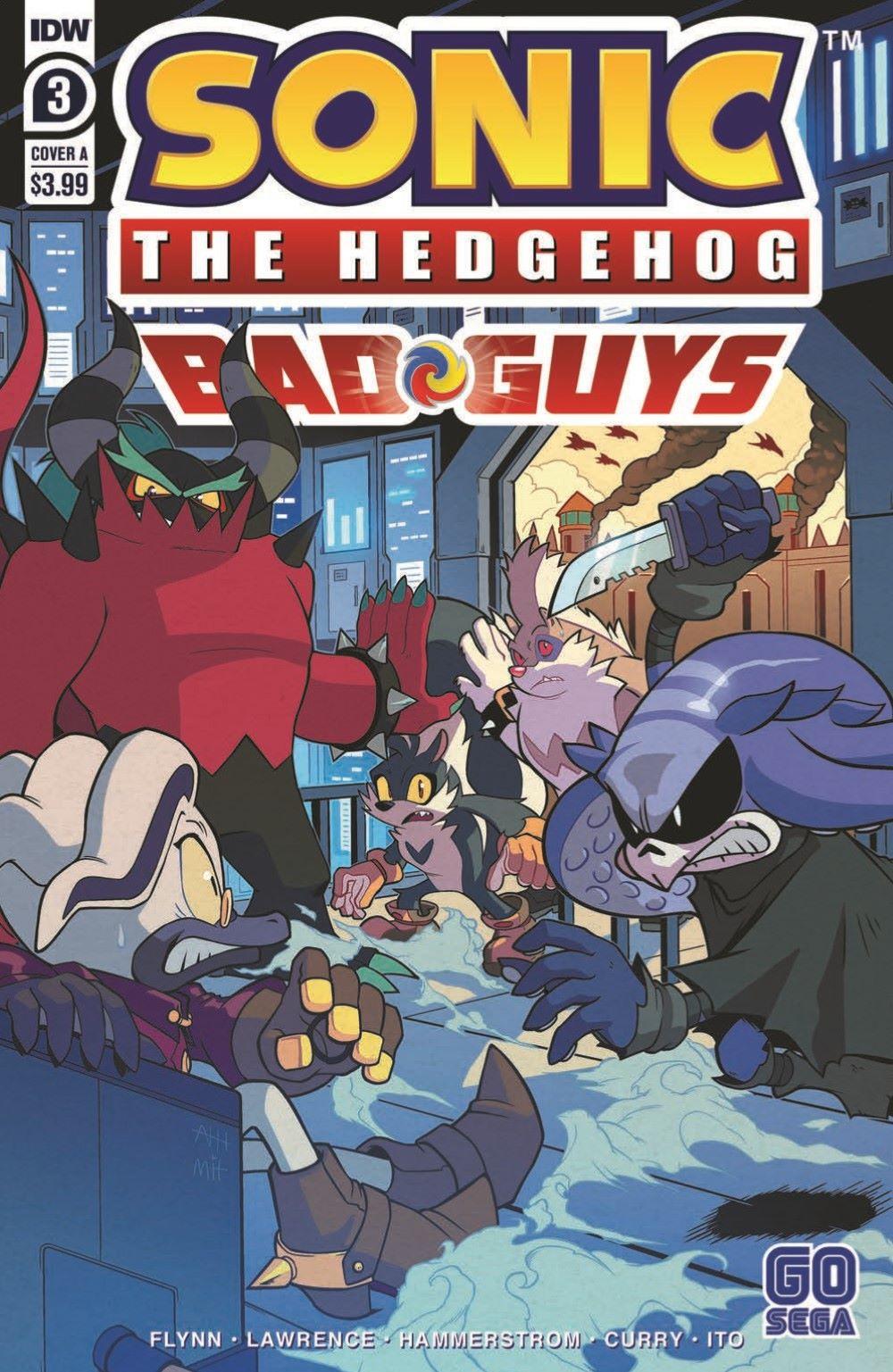 STH-BG03_pr-1 ComicList Previews: SONIC THE HEDGEHOG BAD GUYS #3 (OF 4)
