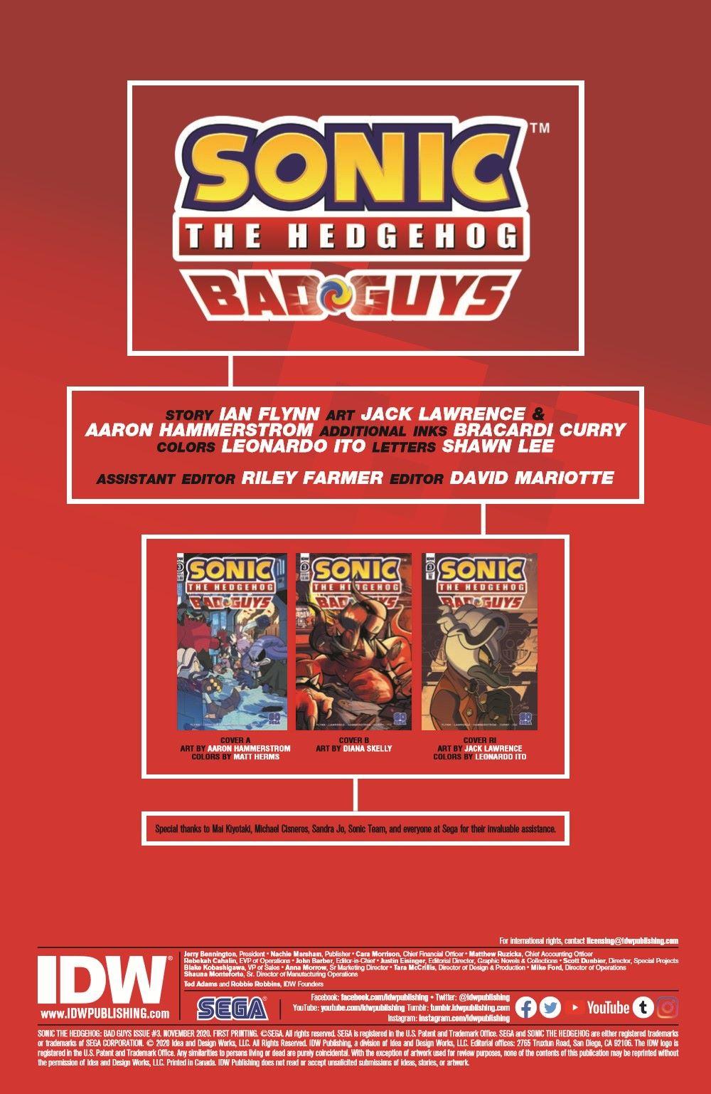 STH-BG03_pr-2 ComicList Previews: SONIC THE HEDGEHOG BAD GUYS #3 (OF 4)