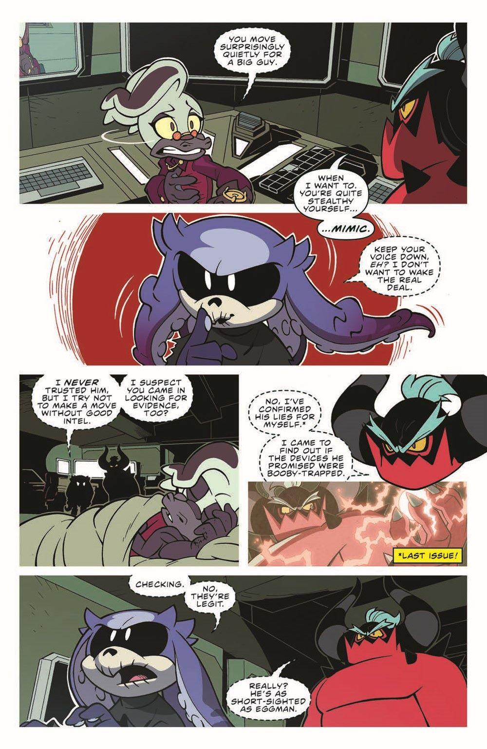 STH-BG03_pr-6 ComicList Previews: SONIC THE HEDGEHOG BAD GUYS #3 (OF 4)
