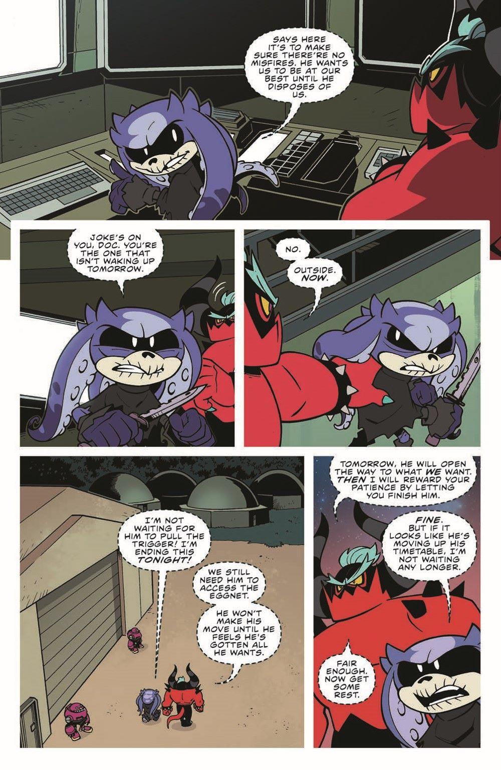 STH-BG03_pr-7 ComicList Previews: SONIC THE HEDGEHOG BAD GUYS #3 (OF 4)