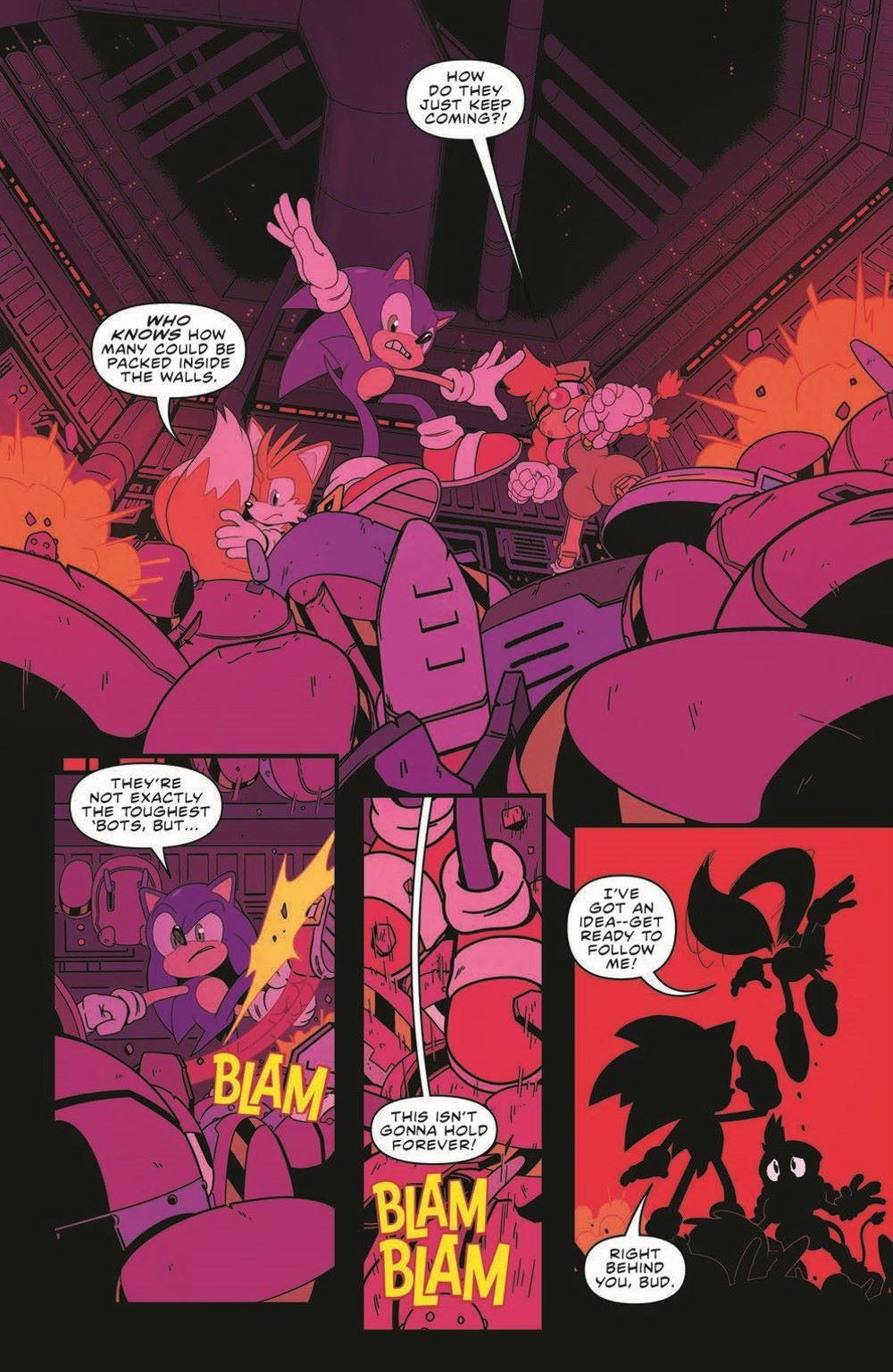 STH35_pr-3 ComicList Previews: SONIC THE HEDGEHOG #35