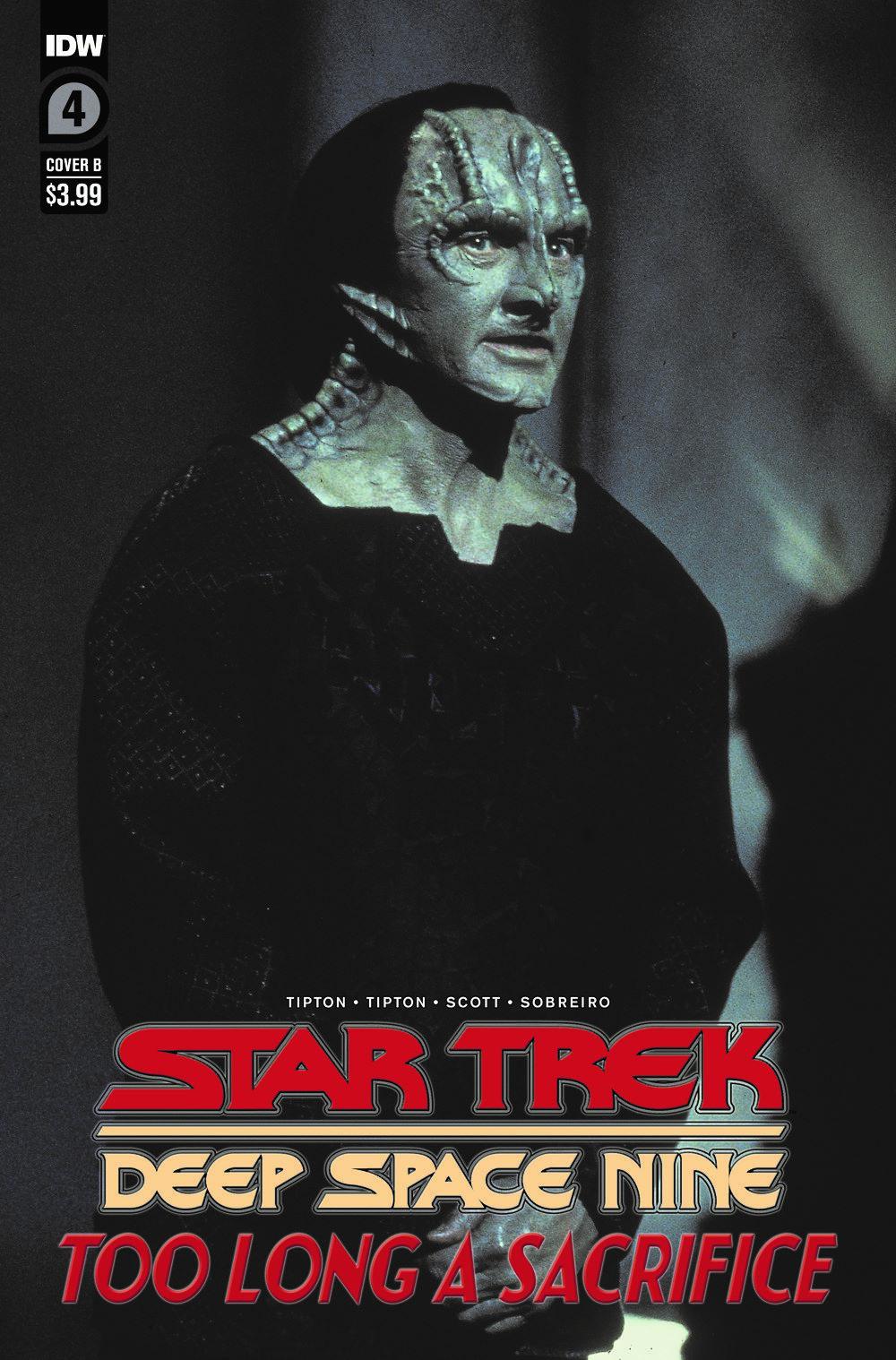 ST_DS9-TLAS04-coverB ComicList Previews: STAR TREK DEEP SPACE NINE TOO LONG A SACRIFICE #4 (OF 4)