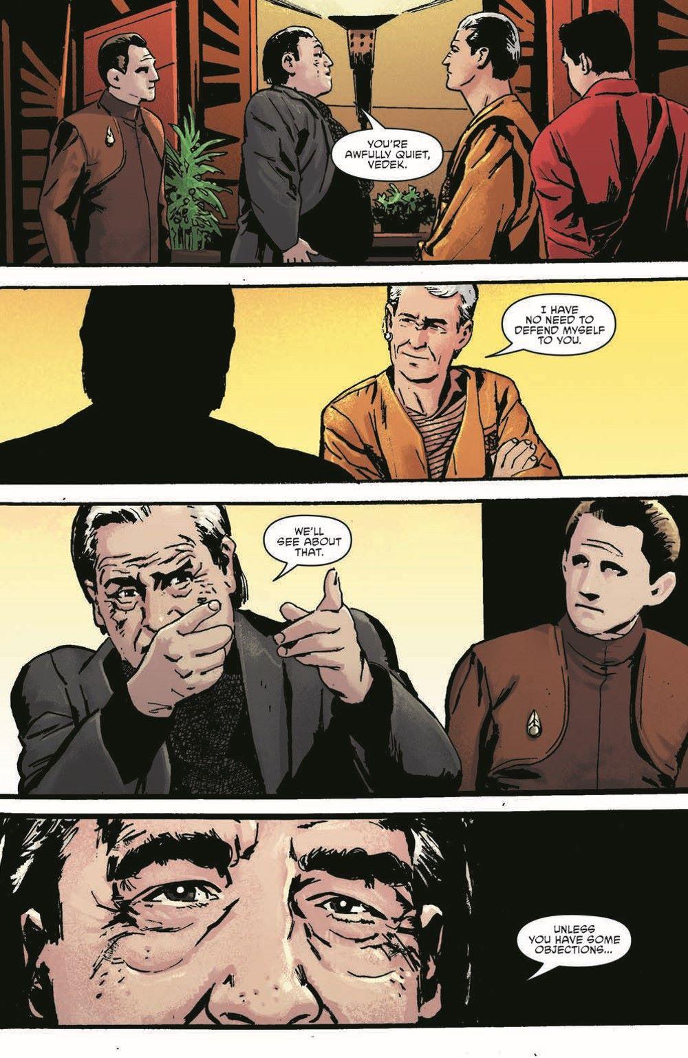 ST_DS9_04-pr-3 ComicList Previews: STAR TREK DEEP SPACE NINE TOO LONG A SACRIFICE #4 (OF 4)