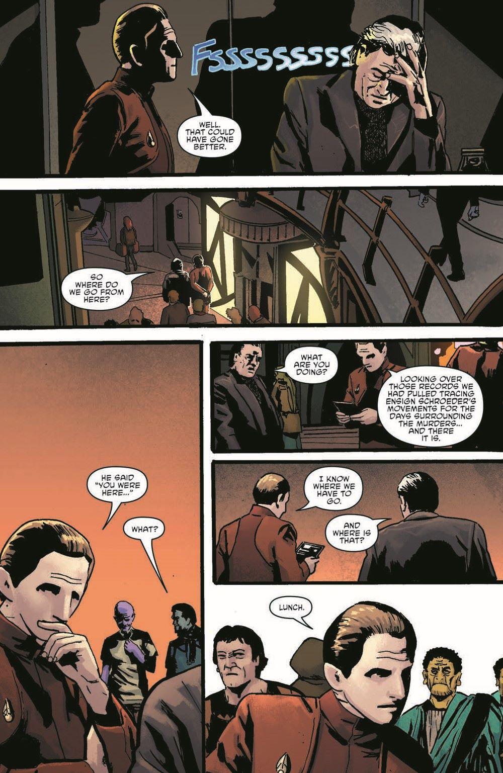 ST_DS9_04-pr-6 ComicList Previews: STAR TREK DEEP SPACE NINE TOO LONG A SACRIFICE #4 (OF 4)
