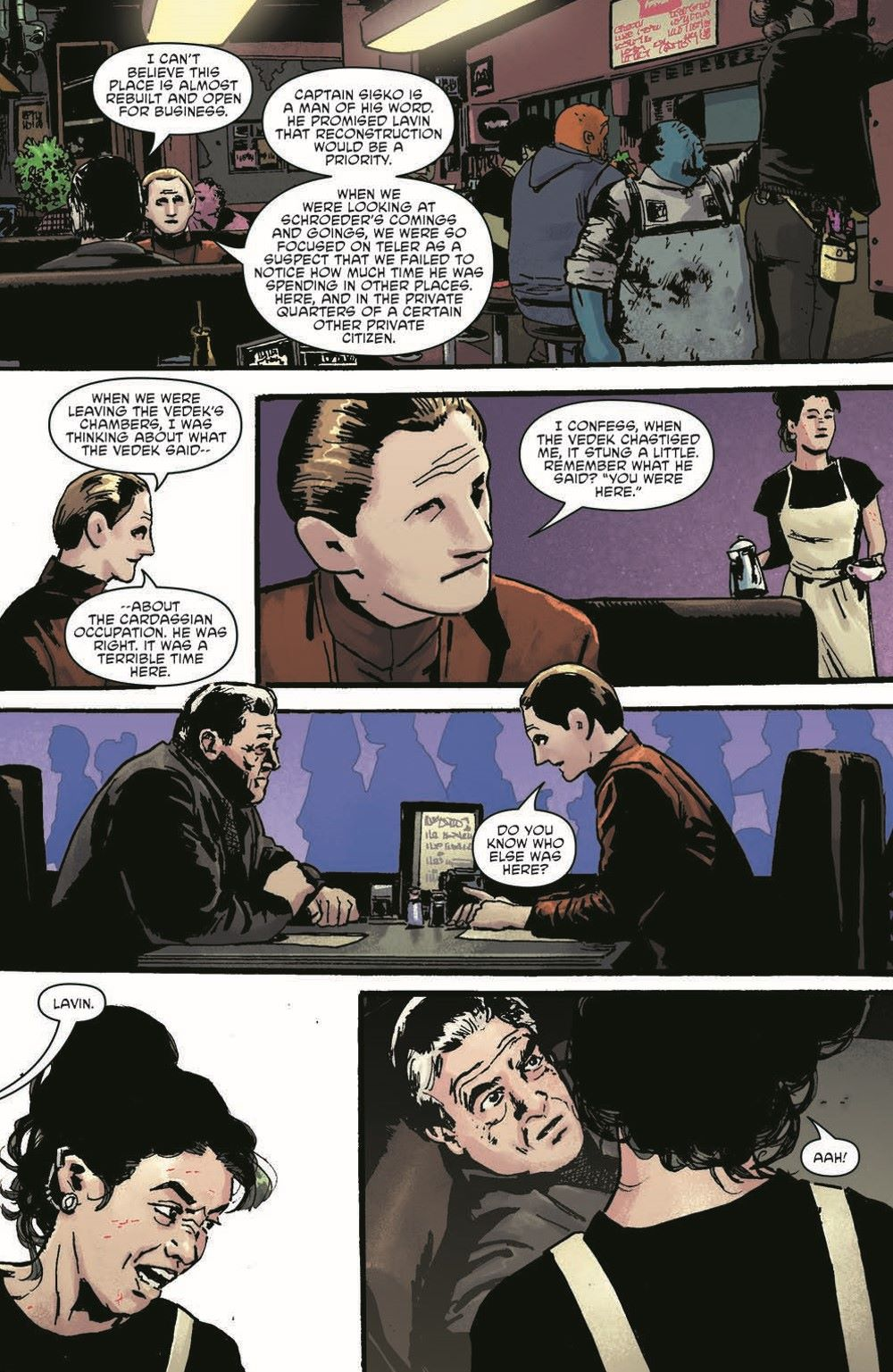ST_DS9_04-pr-7 ComicList Previews: STAR TREK DEEP SPACE NINE TOO LONG A SACRIFICE #4 (OF 4)