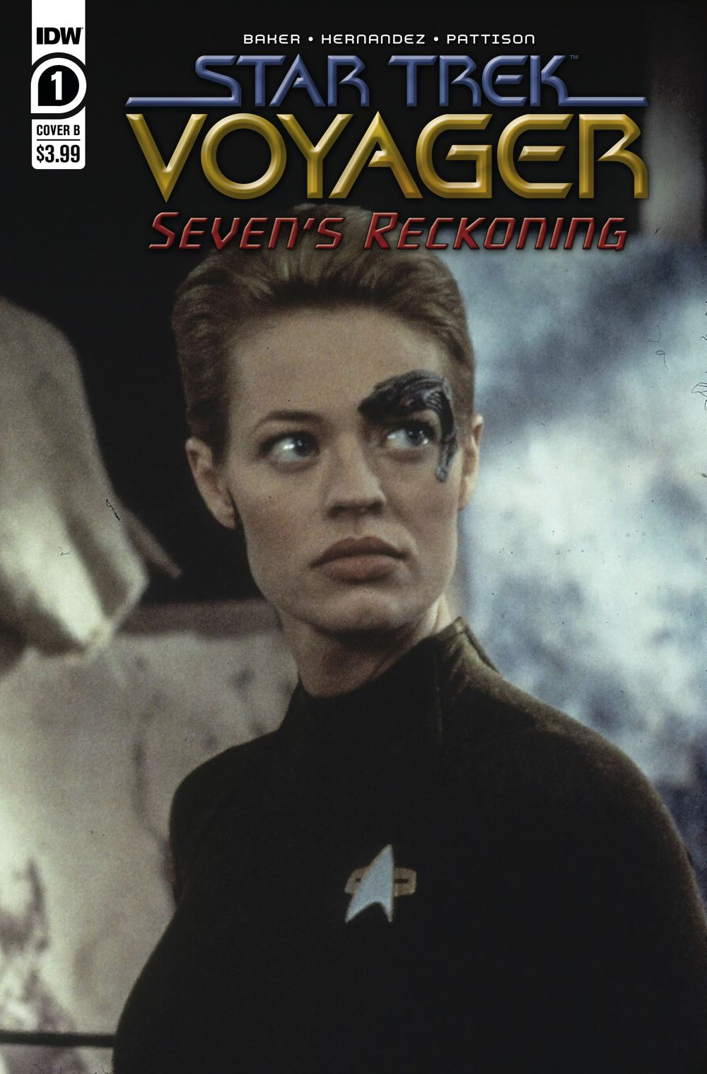 ST_Voyager_SR01-coverB ComicList Previews: STAR TREK VOYAGER SEVEN'S RECKONING #1 (OF 4)