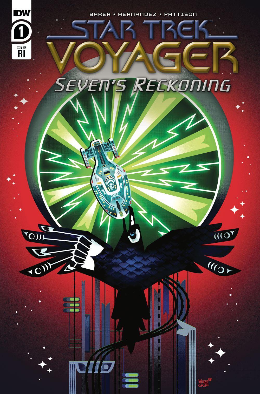 ST_Voyager_SR01-coverRI ComicList Previews: STAR TREK VOYAGER SEVEN'S RECKONING #1 (OF 4)