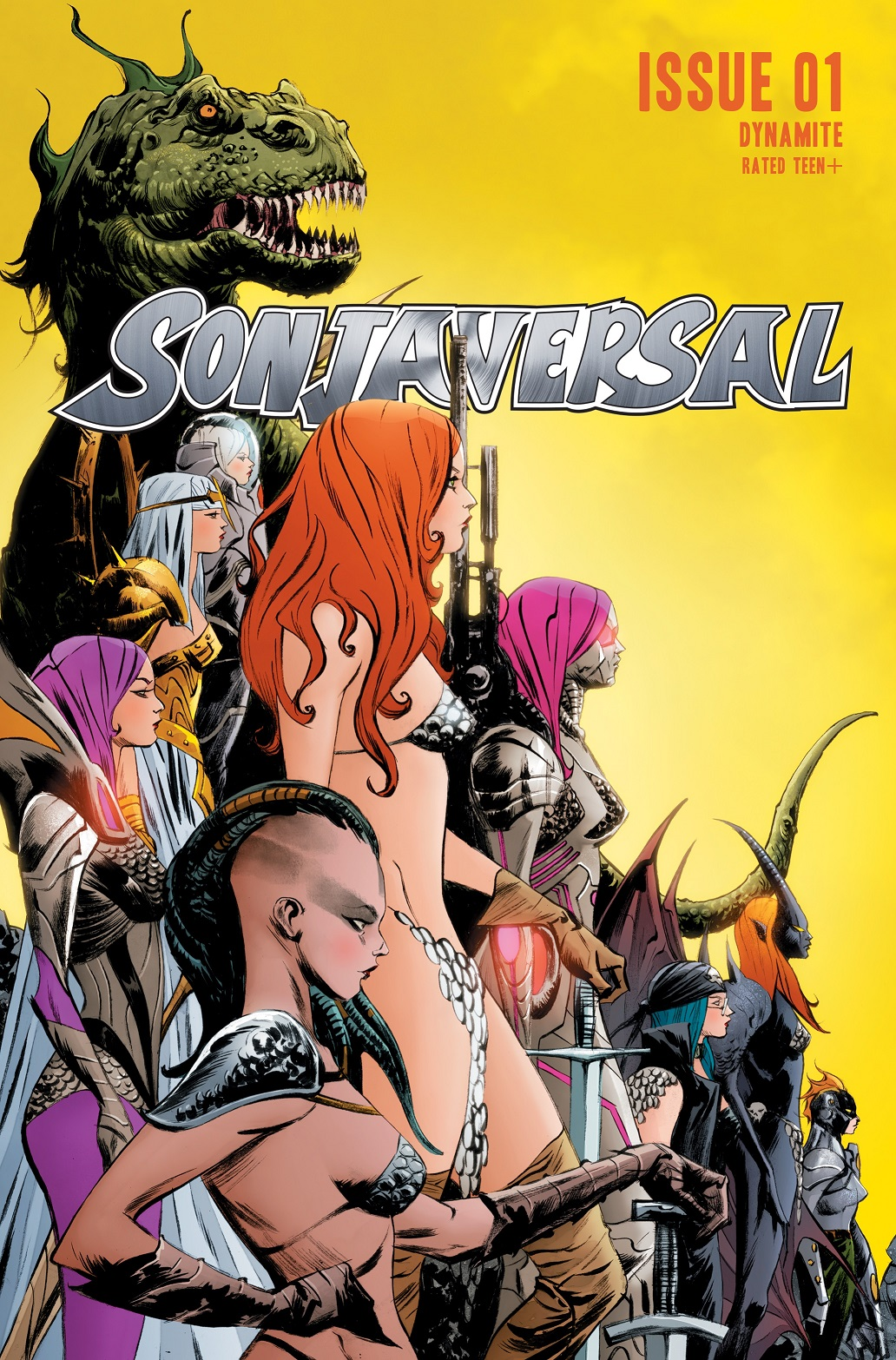 Sonjaversal-01-01011-A-Lee Experience an unlimited number of Red Sonja variants in SONJAVERSAL