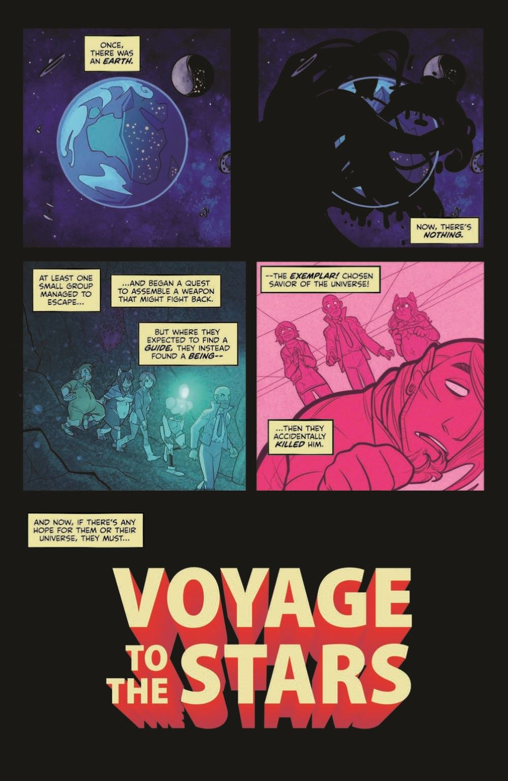 VoyageToTheStars_02-pr-3 ComicList Previews: VOYAGE TO THE STARS #3 (OF 4)