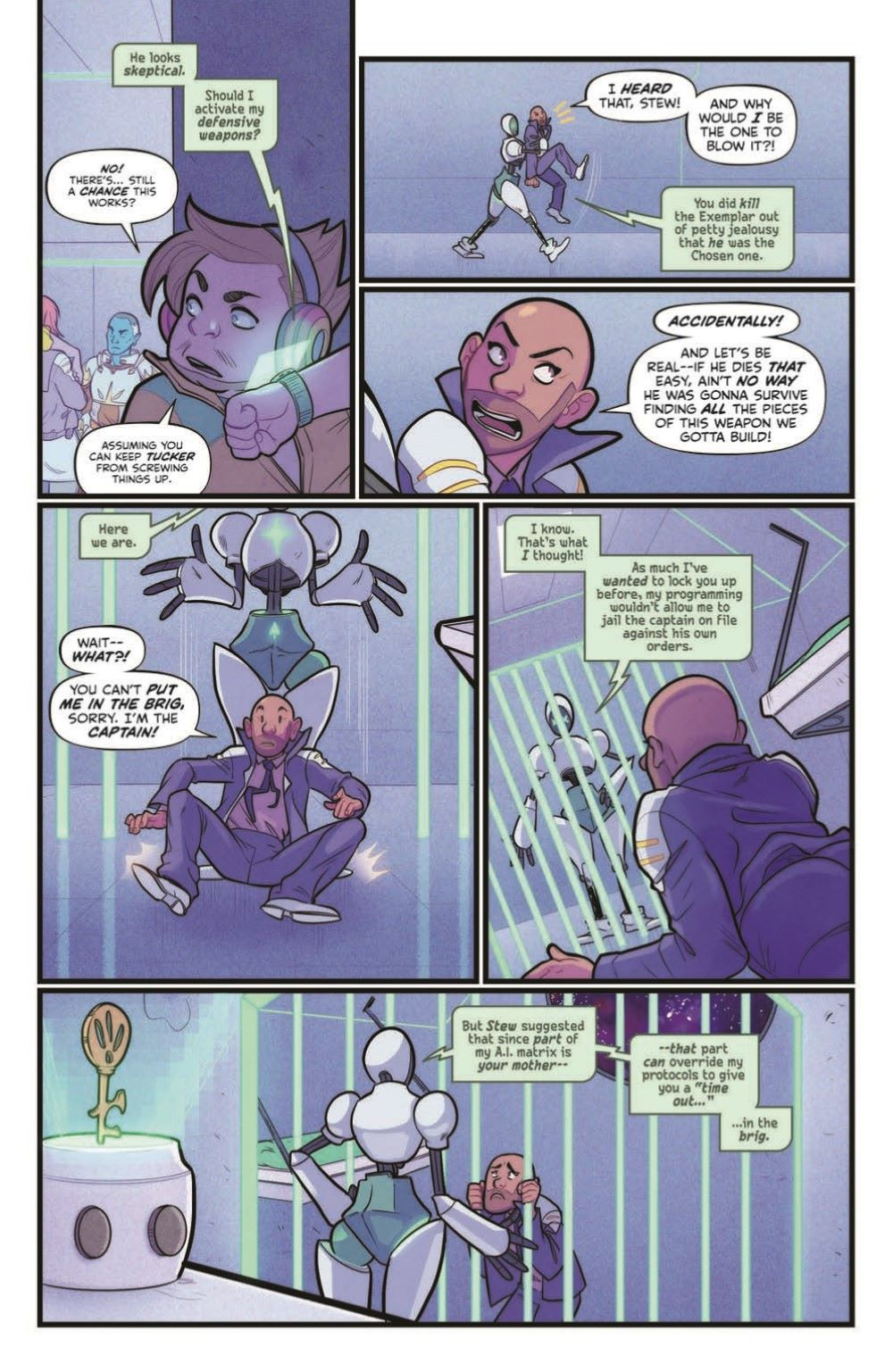 VoyageToTheStars_02-pr-6 ComicList Previews: VOYAGE TO THE STARS #3 (OF 4)