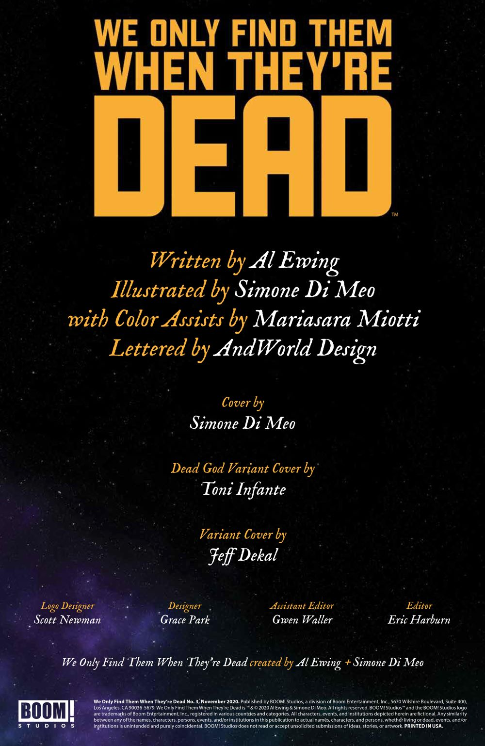 WeOnlyFindThem_003_PRESS_2 ComicList Previews: WE ONLY FIND THEM WHEN THEY'RE DEAD #3