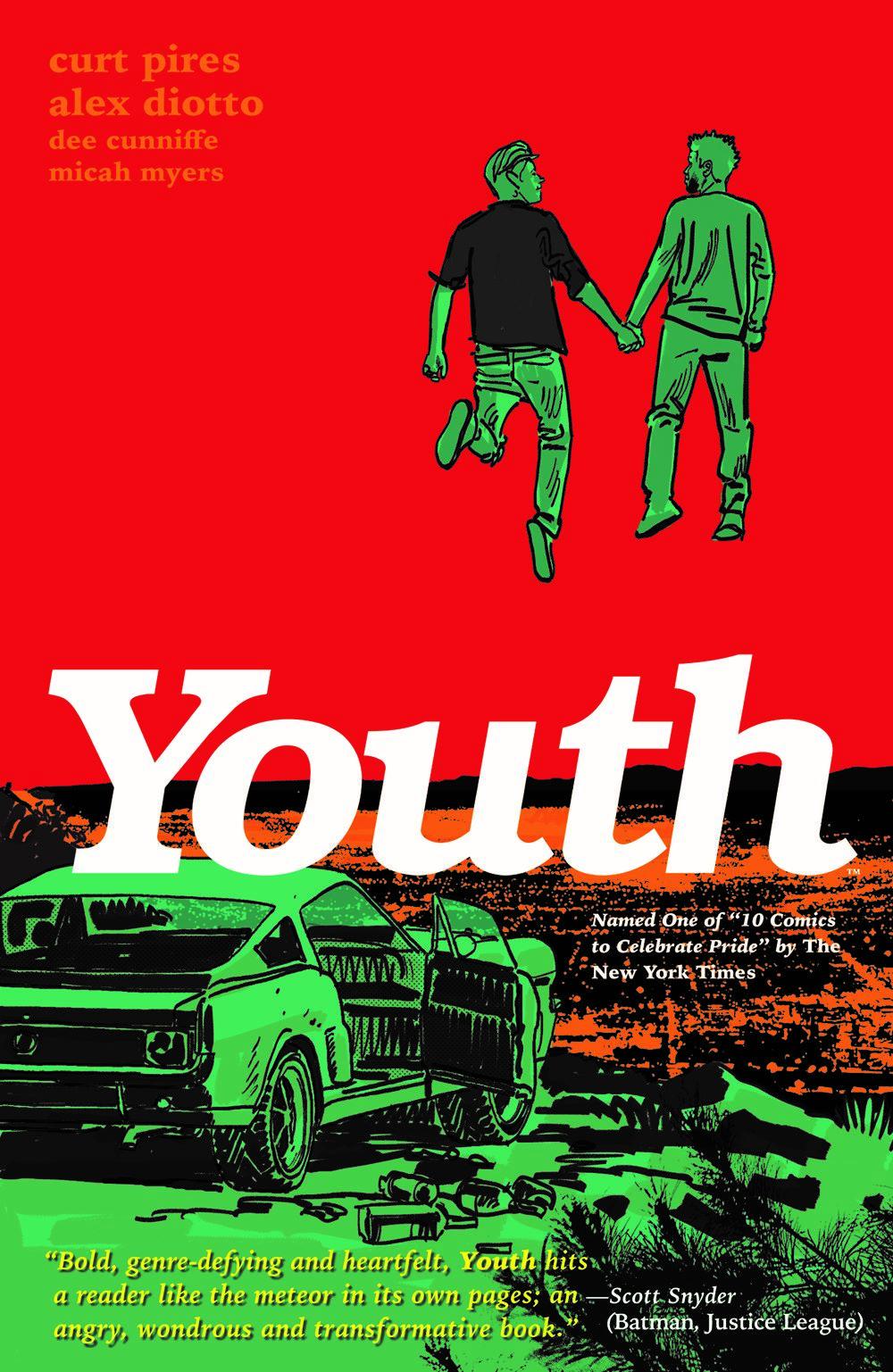 YOUTH_TPB_CVR_4X6_SOL Dark Horse Comics Extended Forecast for 01/06/2021