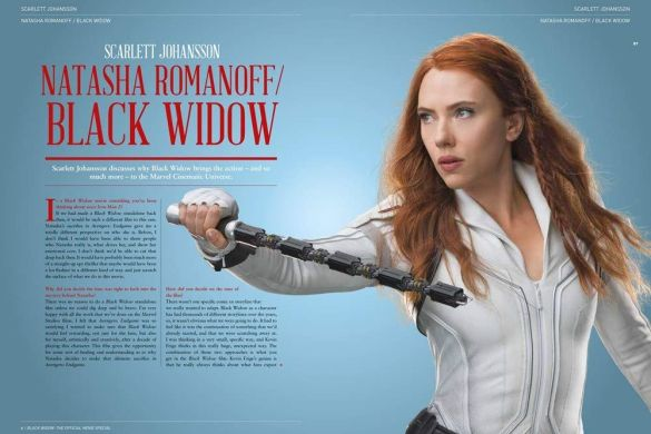 black-widow-1 ComicList Previews: MARVEL STUDIOS' BLACK WIDOW THE OFFICIAL MOVIE SPECIAL