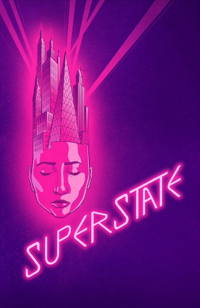 d11f9979-cd14-43aa-839e-e379b80b6c94 SUPERSTATE is a graphic novel and a soundtrack