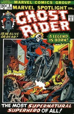 ghost-rider-1-196x300 The Top Five Bronze Age Comics vs. Amazing Spider-Man #1