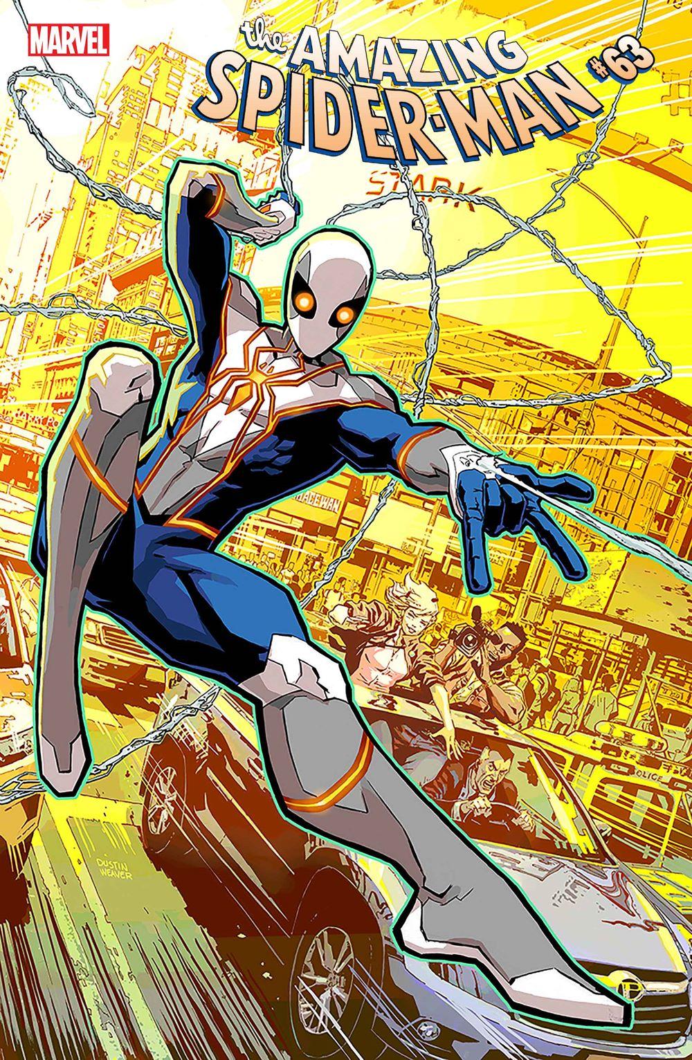 ASM2018063_VAR Marvel reveals Dustin Weaver's new Spider-Man costume