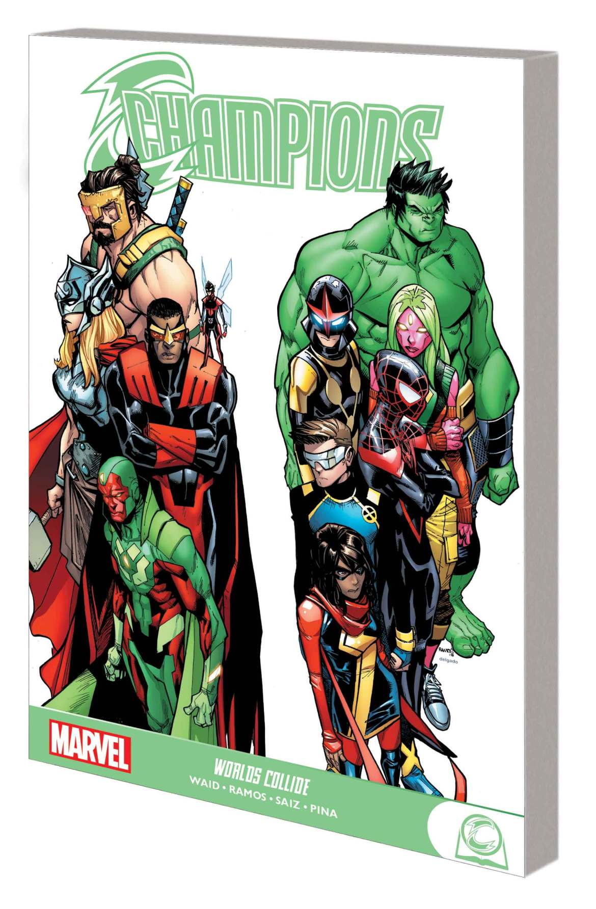 CHAMPIONS_TPB_GN Marvel Comics March 2021 Solicitations