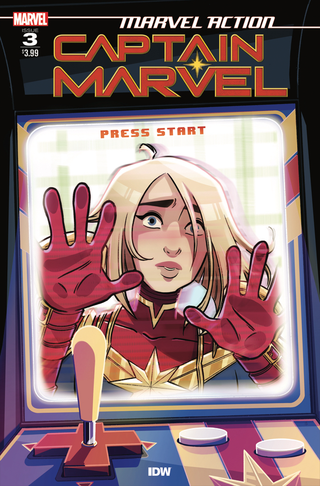 CaptainMarvel_Acvr_01 IDW Publishing March 2021 Solicitations
