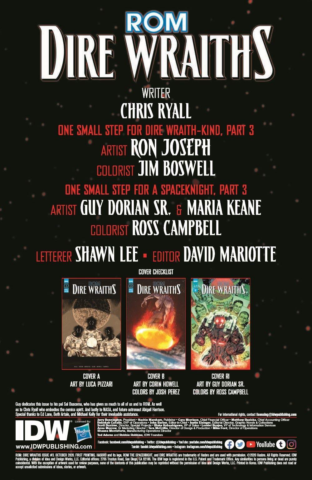 DireWraiths03_pr-2 ComicList Previews: ROM DIRE WRAITHS #3 (OF 3)