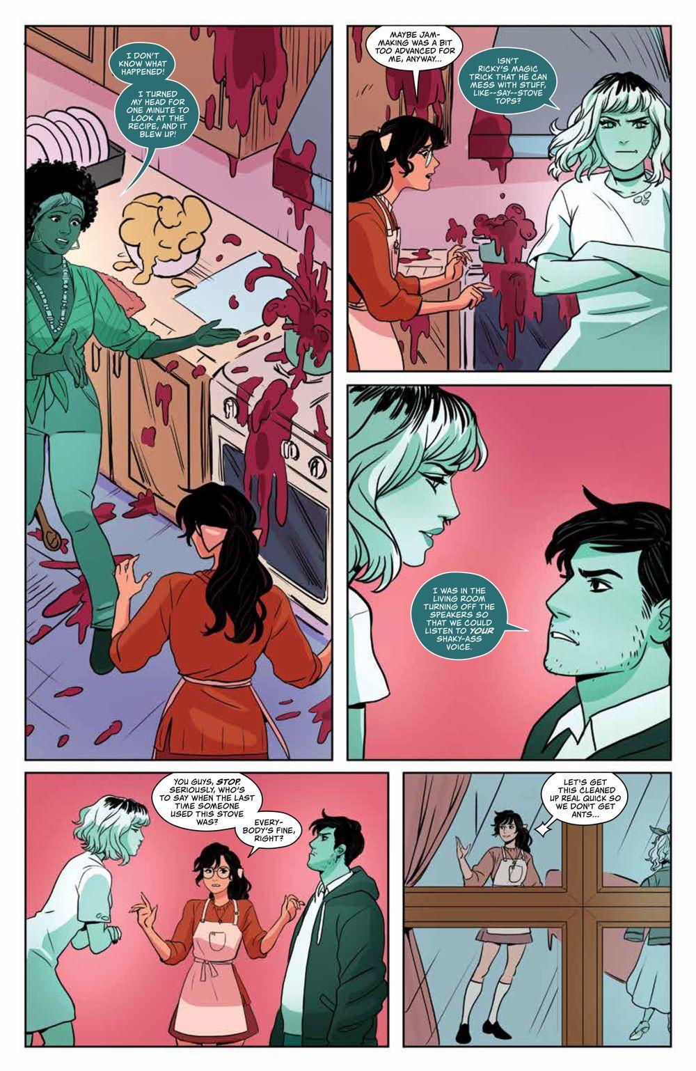 GhostedInLA_v3_SC_PRESS_16 ComicList Previews: GHOSTED IN L.A. VOLUME 3 TP