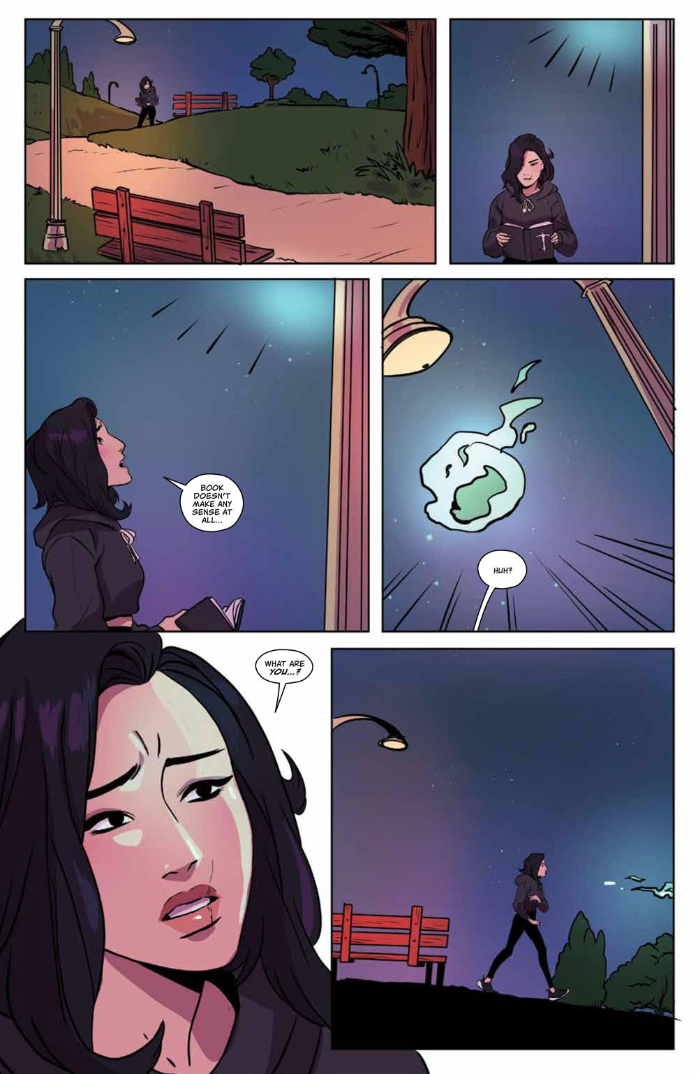 GhostedInLA_v3_SC_PRESS_20 ComicList Previews: GHOSTED IN L.A. VOLUME 3 TP