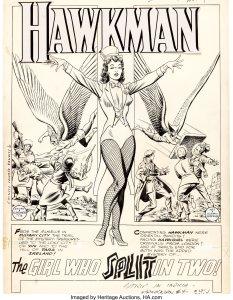 Hawkman-4-Page-1-by-Murphy-Anderson-233x300 Hawkman #4, Zatanna Debut: Artist Murphy Anderson
