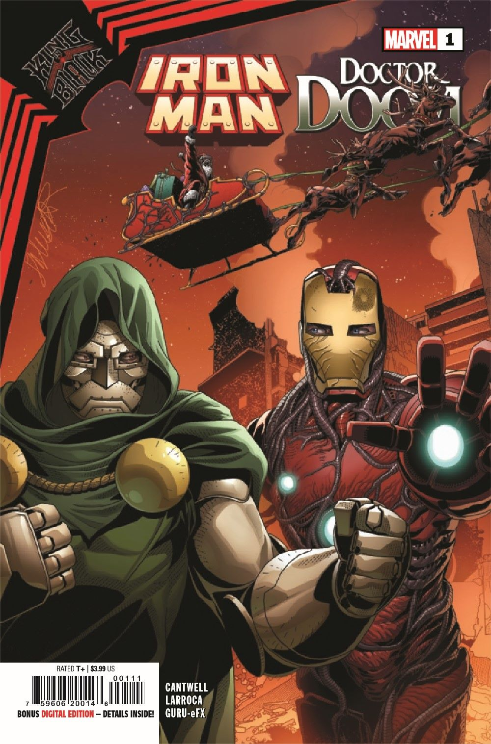 IMKIB2020001_Preview-1 ComicList Previews: KING IN BLACK IRON MAN DOCTOR DOOM #1