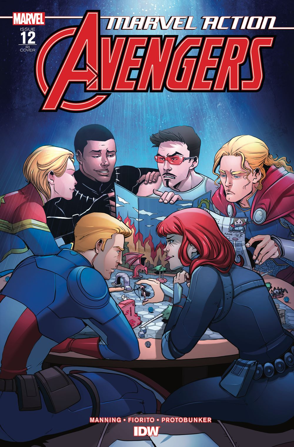 Marvel_Avengers12_coverRI ComicList Previews: MARVEL ACTION AVENGERS #12