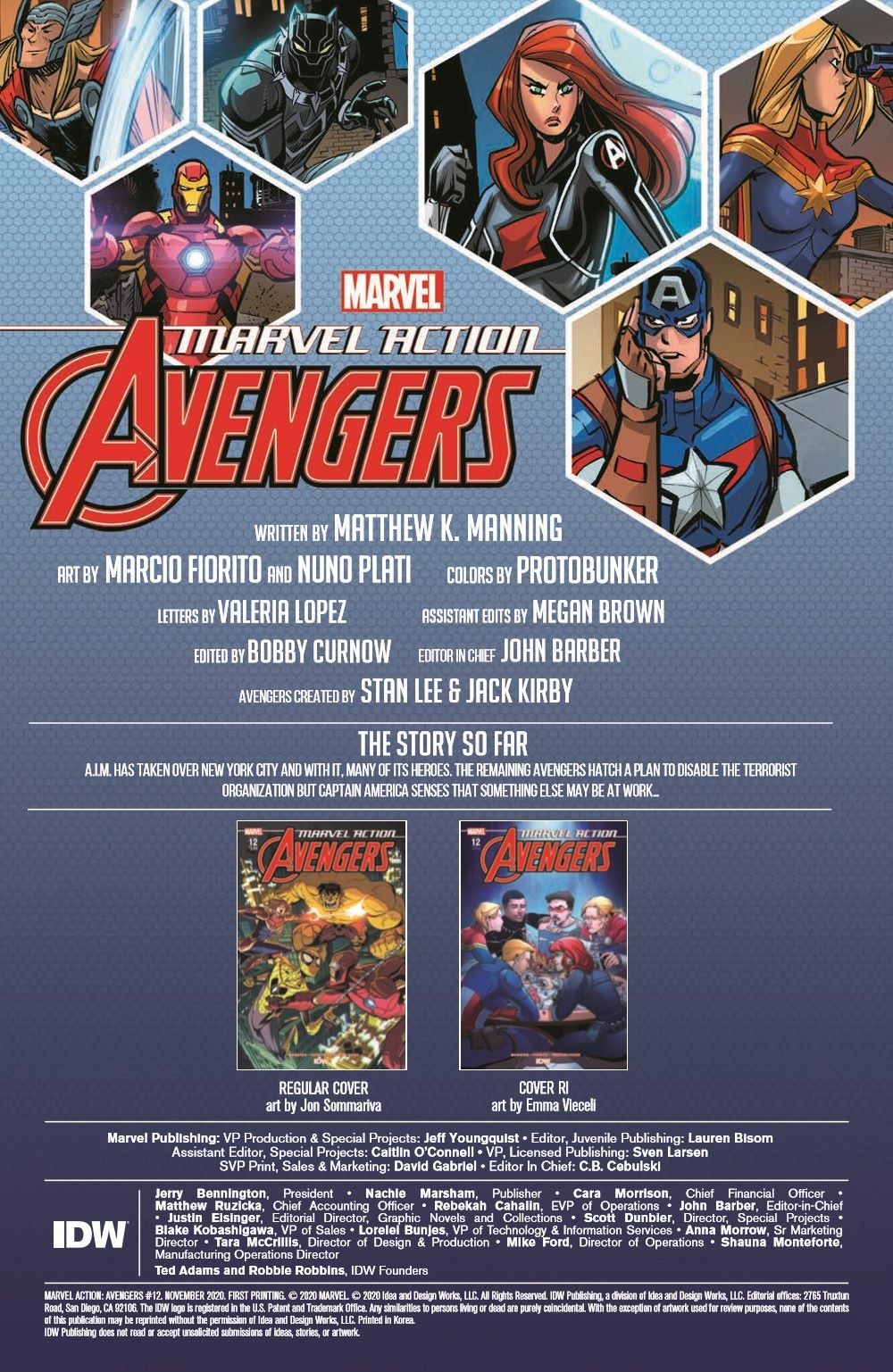 Marvel_Avengers_12_pr-2 ComicList Previews: MARVEL ACTION AVENGERS #12