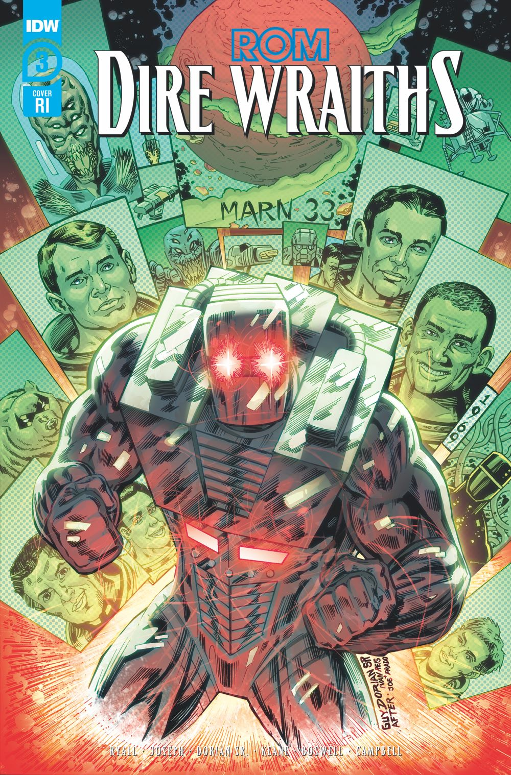 Rom-DW03_cvrRI ComicList Previews: ROM DIRE WRAITHS #3 (OF 3)