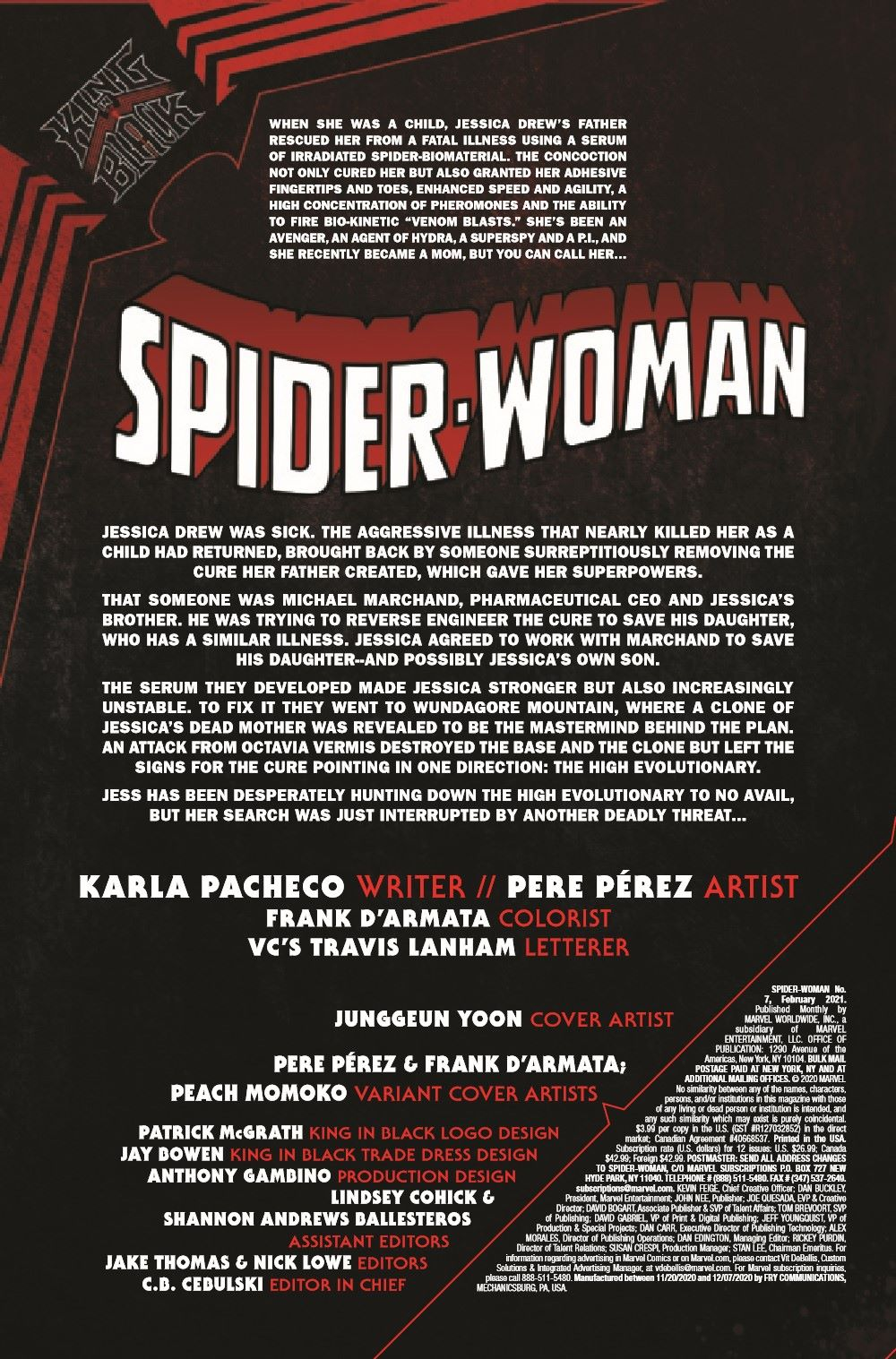 SWOMAN2020007_Preview-2 ComicList Previews: SPIDER-WOMAN #7