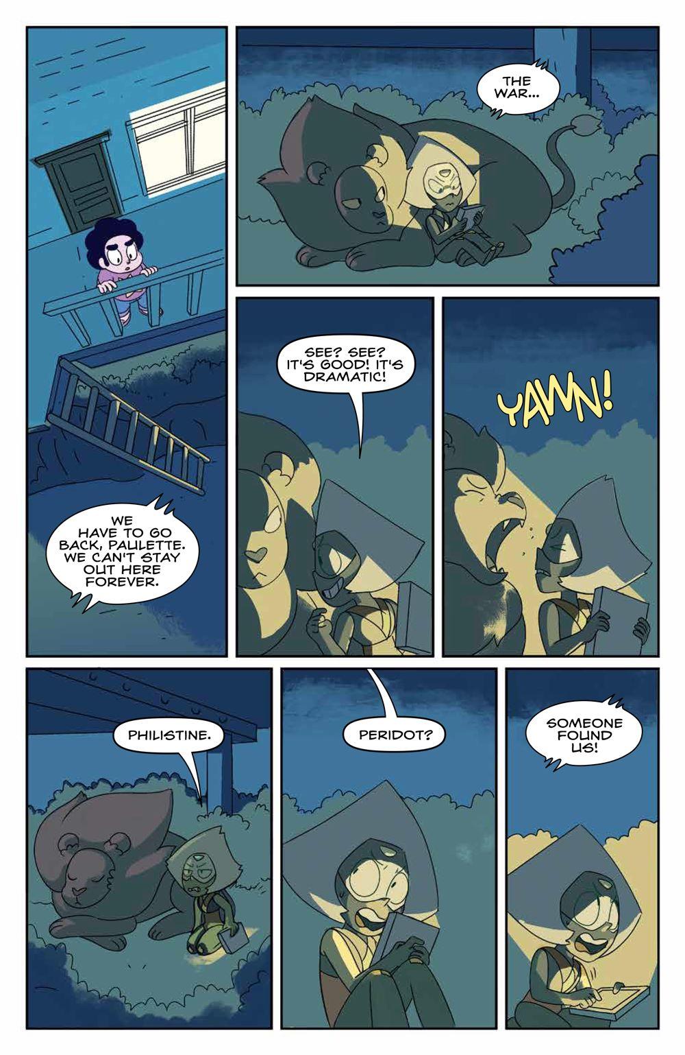 StevenUniverse_v9_SC_PRESS_19 ComicList Previews: STEVEN UNIVERSE VOLUME 9 TP
