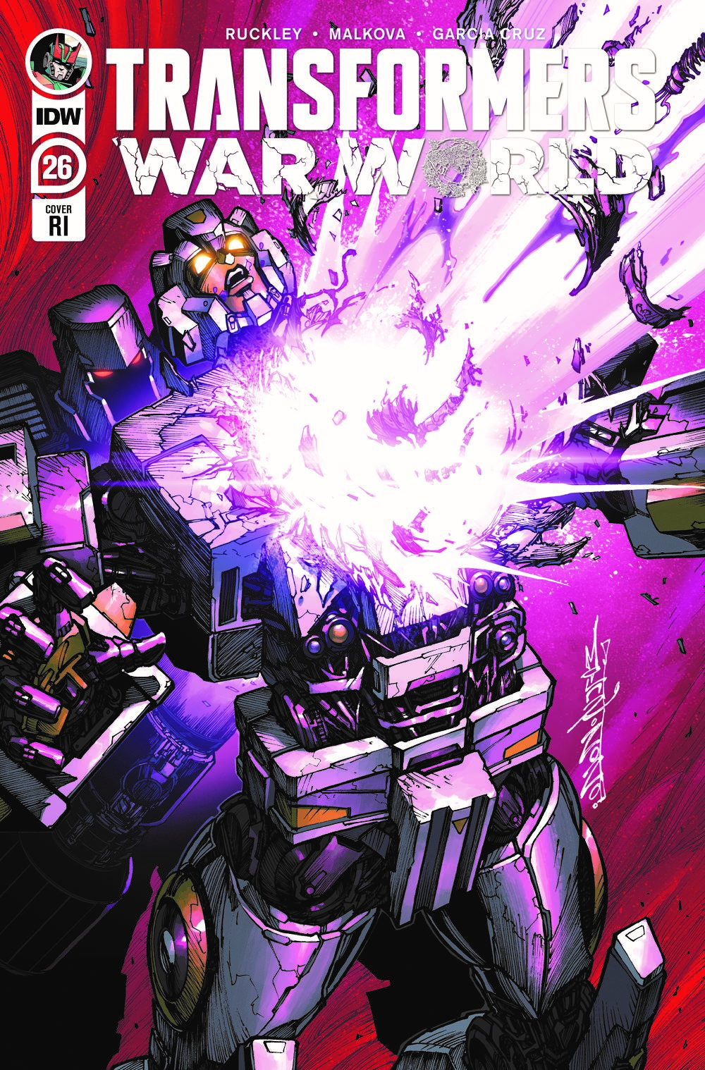 TF26-cvr-RI ComicList Previews: TRANSFORMERS #26