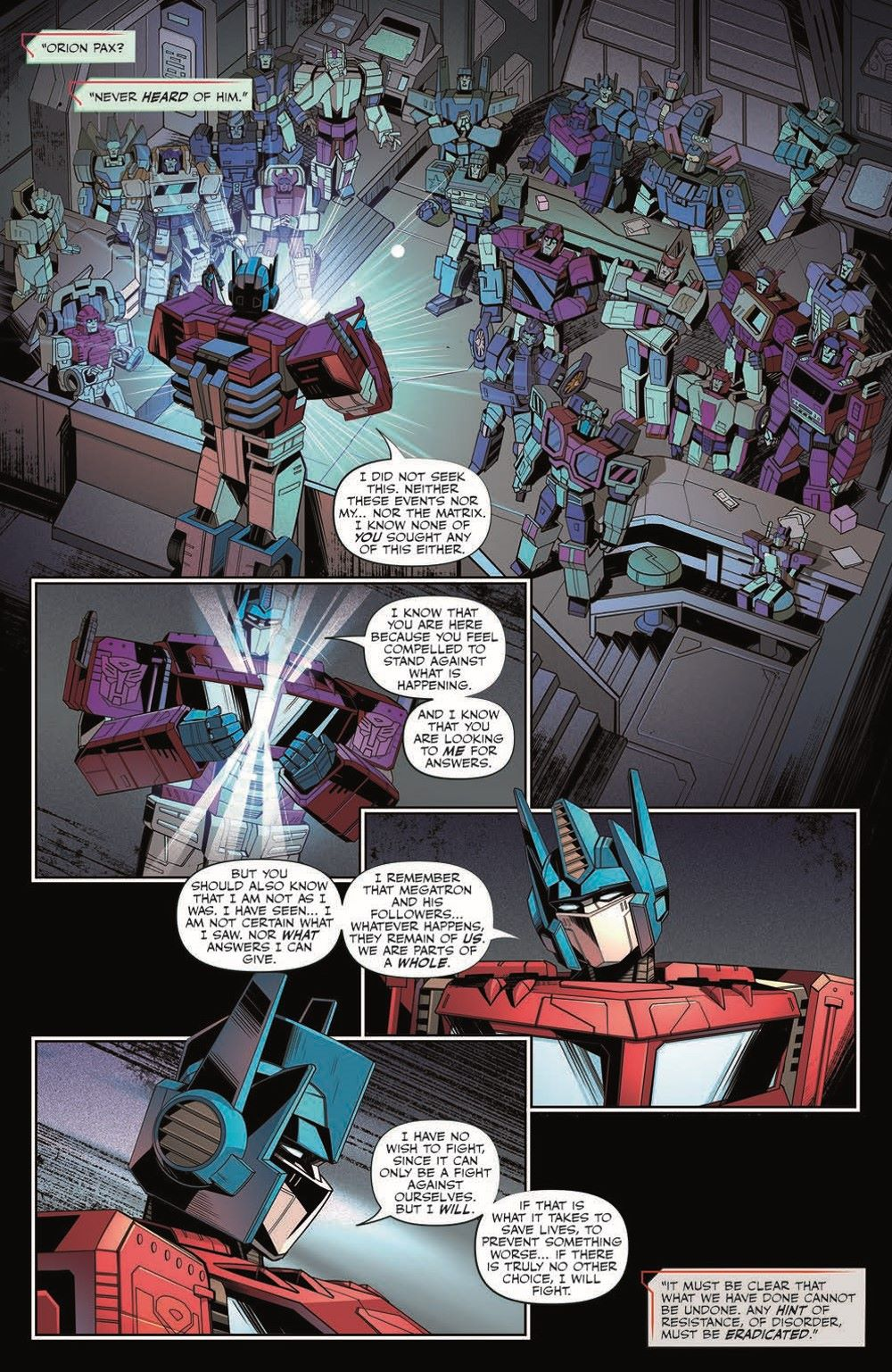 TF26-pr-6 ComicList Previews: TRANSFORMERS #26