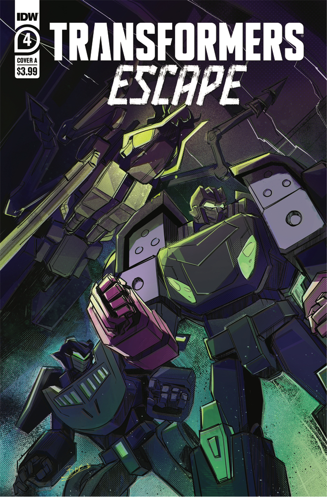 TFEscape-Cover-A IDW Publishing March 2021 Solicitations