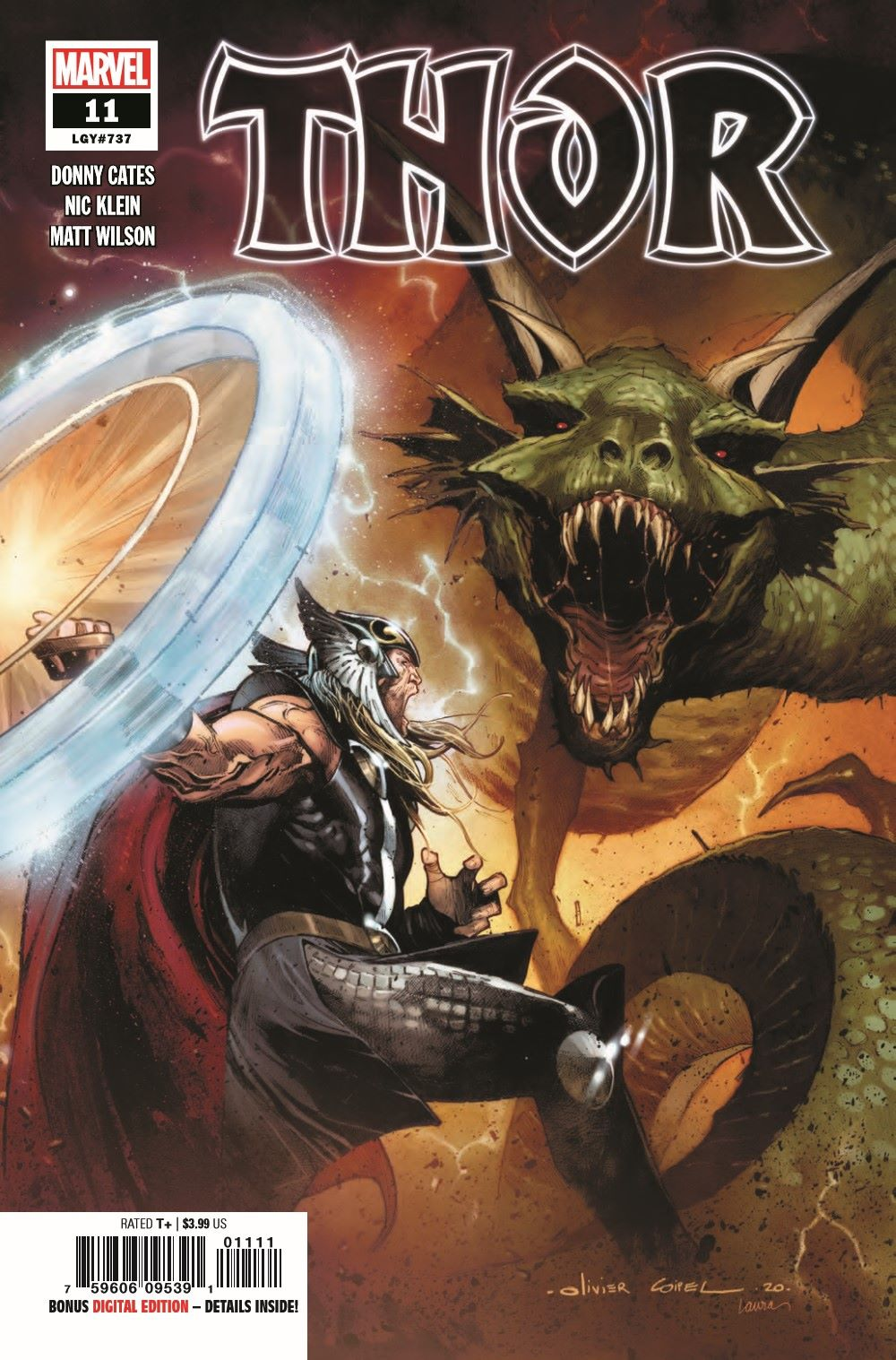 THOR2020011_Preview-1 ComicList Previews: THOR #11