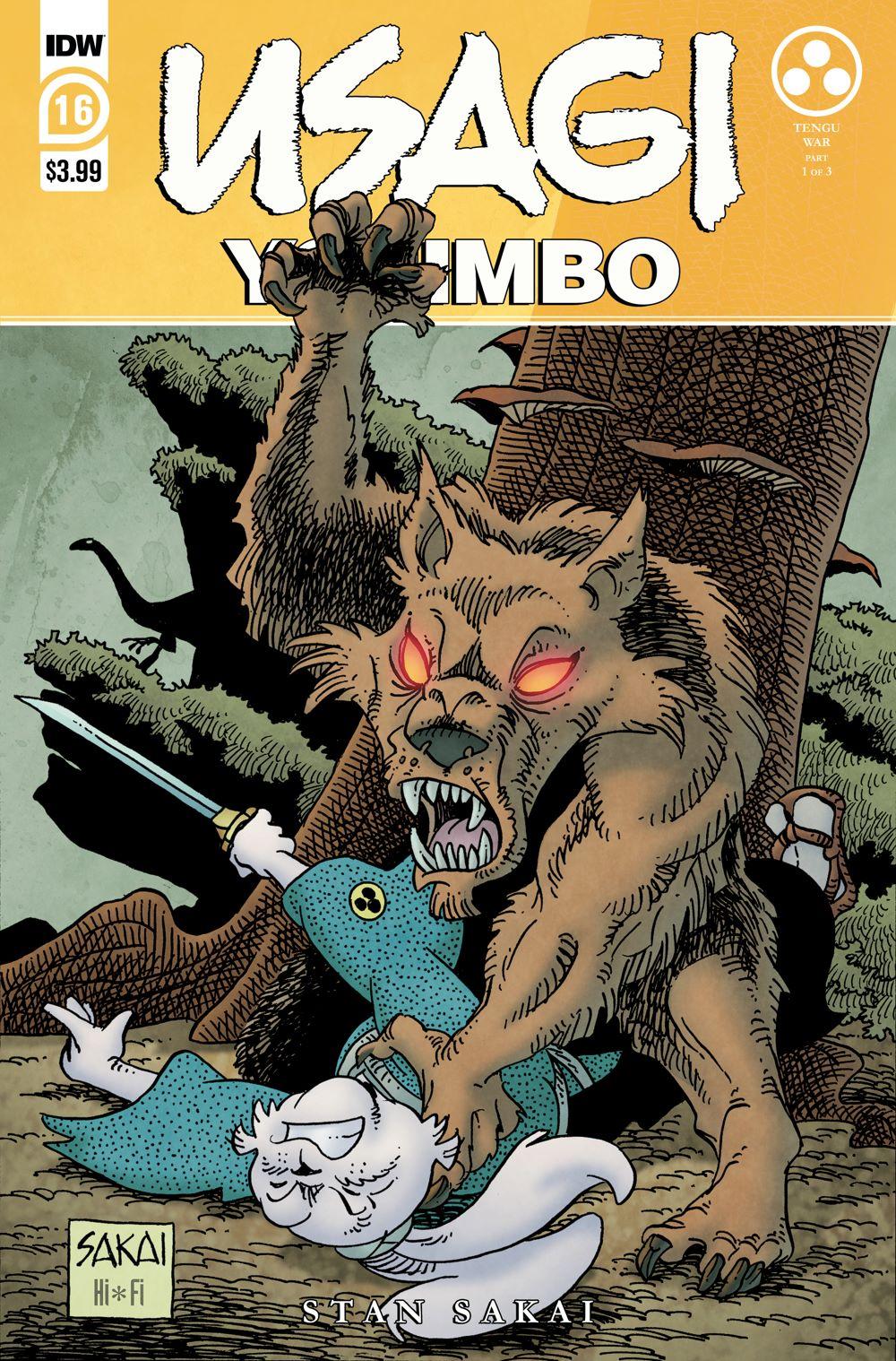 Usagi16_cvrA ComicList: IDW Publishing New Releases for 01/06/2021