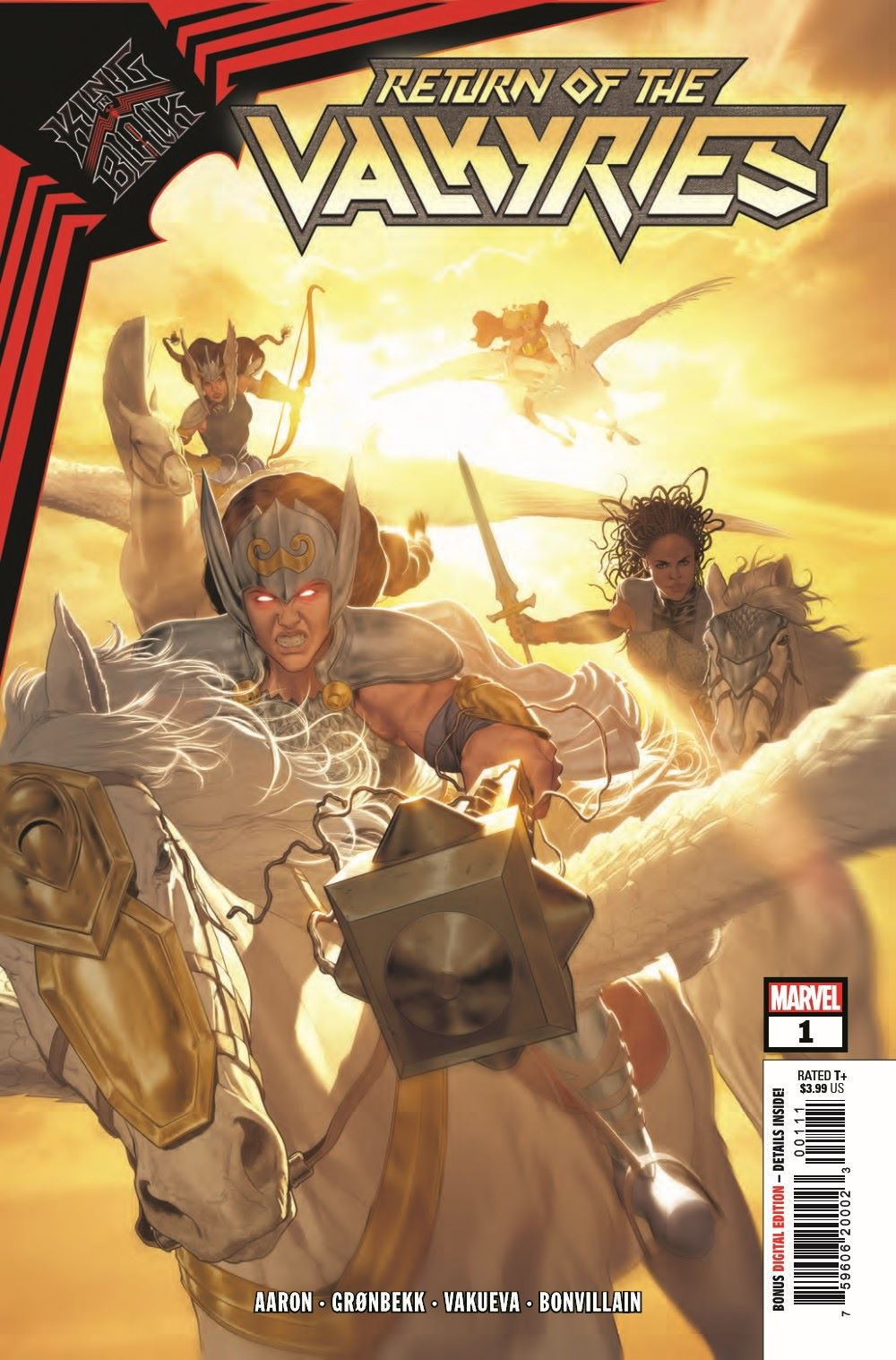 VALKYRIESRET2021001_Preview-1 ComicList Previews: KING IN BLACK RETURN OF THE VALKYRIES #1 (OF 4)